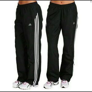 Adidas Track Pants 3 Stripe Wind XS Vintage